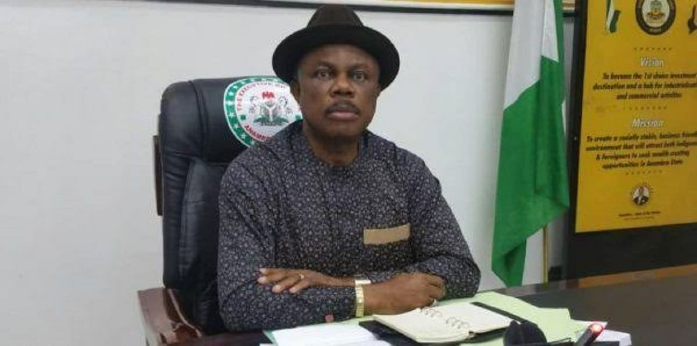 95 year-old man leads protest to stop Obiano from installing alleged fraudulent monarch